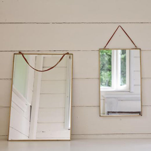 Mirror: Kiko Antique Brass Mirror