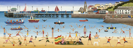 Louise Braithwaite - Swanage Pier (Limited Edition Print)