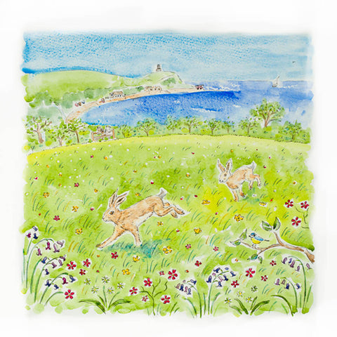 Janine Drayson - Spring in Your Step, Kimmeridge
