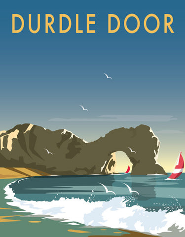 David Thompson - Durdle Door (Print)