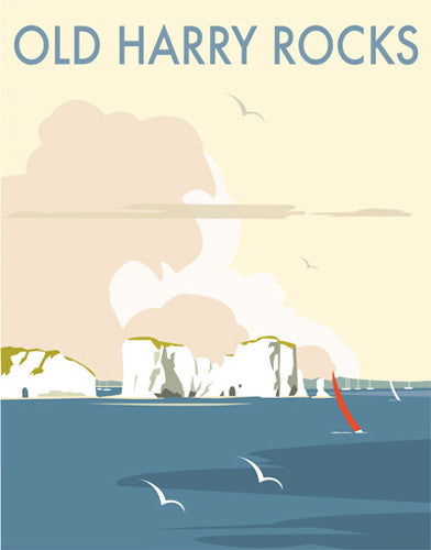 David Thompson - Old Harry (Print)
