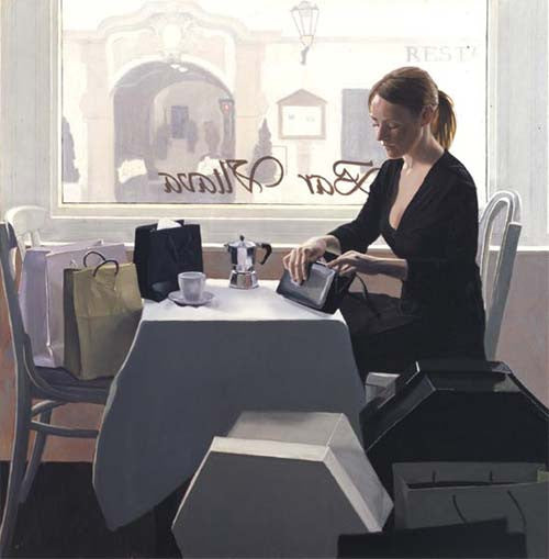 Iain Faulkner - Coffee Break (Limited Edition Print)