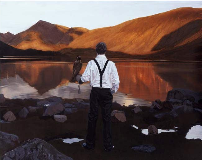 Iain Faulkner - Falconer, Lock Etvie (Limited Edition Print)