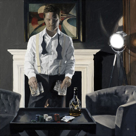 Iain Faulkner - Poker Night (Limited Edition Print)