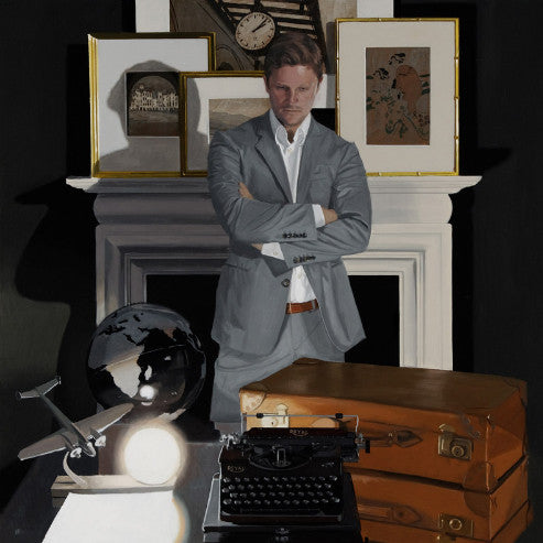 Iain Faulkner - Travel Writer (Limited Edition Print)