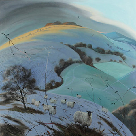 Nicholas Hely Hutchinson - Cold Morning Near Compton Abbas (Limited Edition Print)