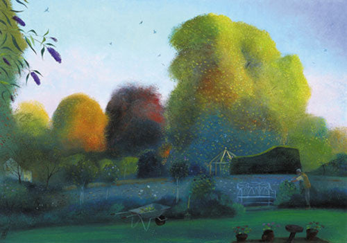 Nicholas Hely Hutchinson - The Gardener (Limited Edition Print)