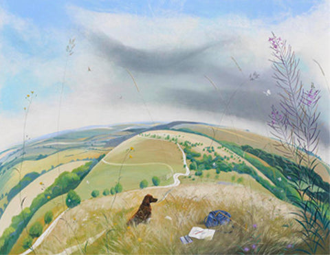 Nicholas Hely Hutchinson - Towards the Ox Drove (Limited Edition Print)