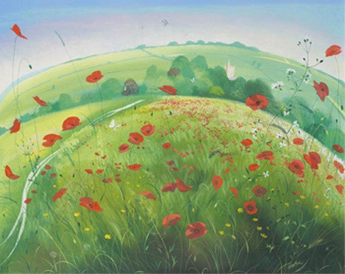 Nicholas Hely Hutchinson - A Field of Poppies (Limited Edition Print)