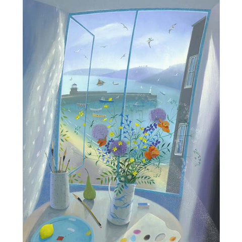 Nicholas Hely Hutchinson - A Window in St Ives (Limited Edition Print)