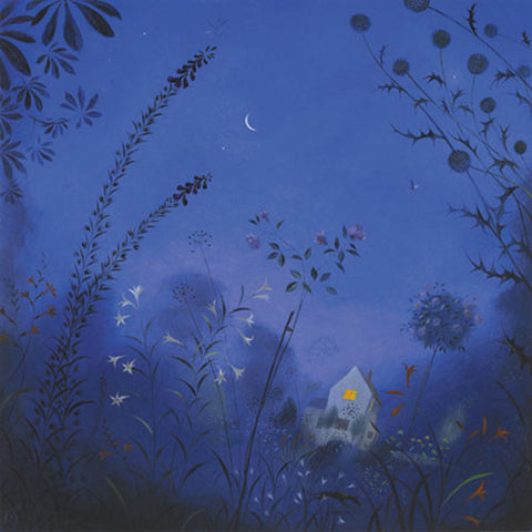 Nicholas Hely Hutchinson - Summer Night in the Garden (Limited Edition Print)