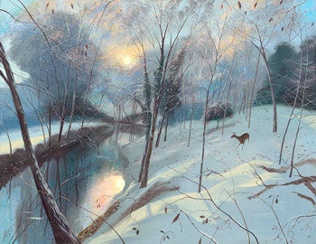 Nicholas Hely Hutchinson - Winter Morning (Limited Edition Print)