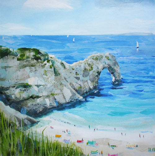 Claire Henley - Durdle Door (Limited Edition Print)