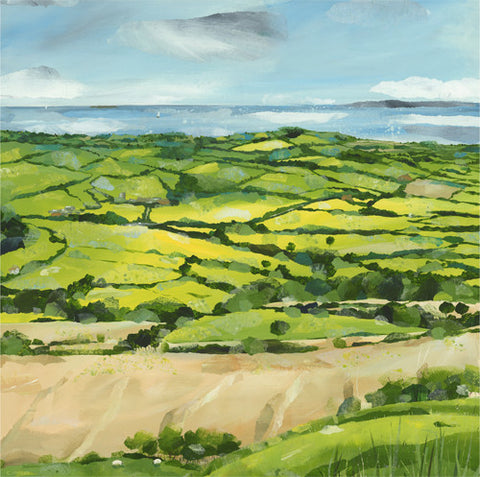 Claire Henley - Eggardon Hill in Dorset (Limited Edition Print)