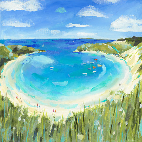 Claire Henley - Lulworth Cove (Limited Edition Print)