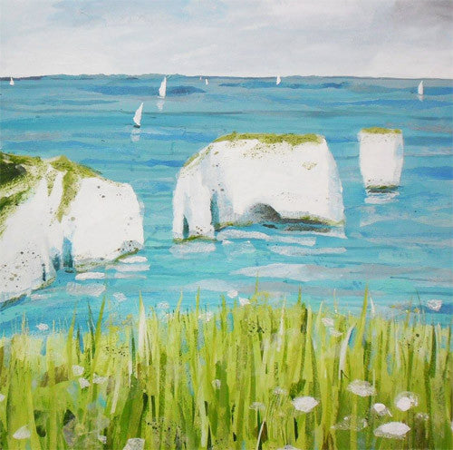 Claire Henley - Old Harry (Limited Edition Print)