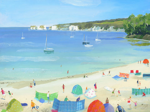 Claire Henley - Old Harry Rocks from Studland (Limited Edition Print)
