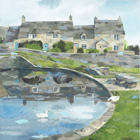 Claire Henley - Worth Matravers (Limited Edition Print)