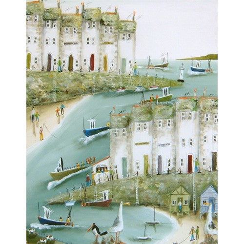 Rebecca Lardner - Gone Fishing (Limited Edition Print)