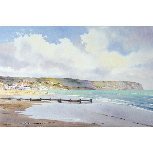 Oliver Pyle -April Afternoon, Swanage Bay