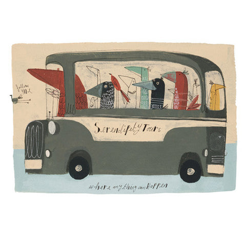 Angela Smyth -Serendipity Tours (Limited Edition Prints)