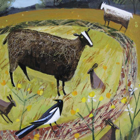 Mary Sumner - Magpie Field (Limited Edition Print)