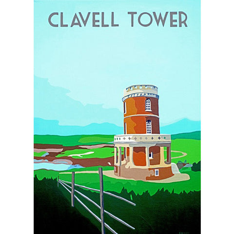 Love Dorset - Clavell Tower