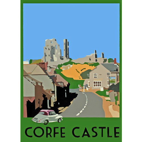 Richard Watkin - Corfe Castle