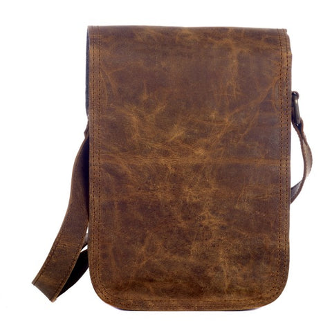 Paper High - Buffalo Leather Satchel Style Shoulder Bag