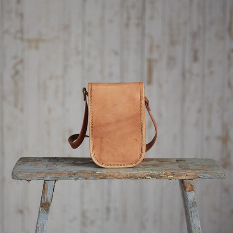 Paper High - Mini Leather Courier Bag