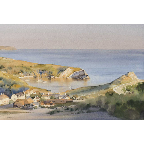 Oliver Pyle - A Warm Evening at Lulworth Cove (Limited Edition Print)