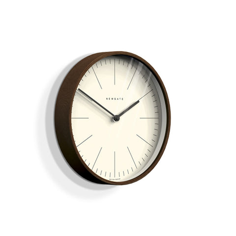 Newgate Clock -  Mr Clarke Small Plywood Wall Clock | Minimalist Marker Dial