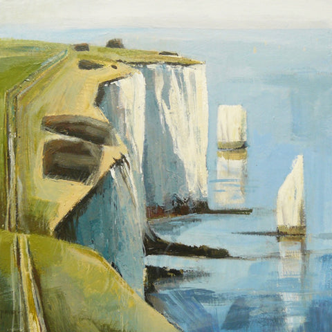 Carolyn Pavey - Cliff Path I (Original)