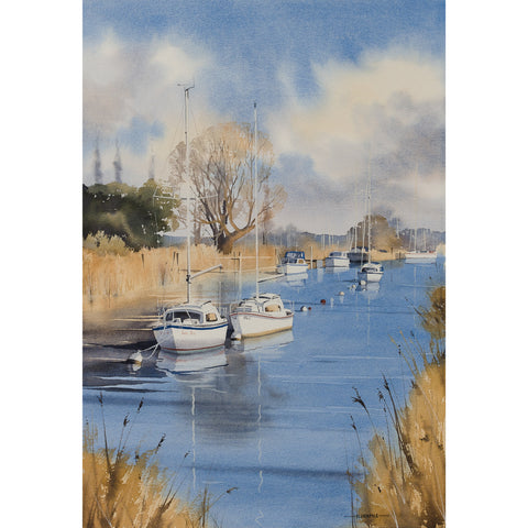 Oliver Pyle - Quiet Moorings, Wareham