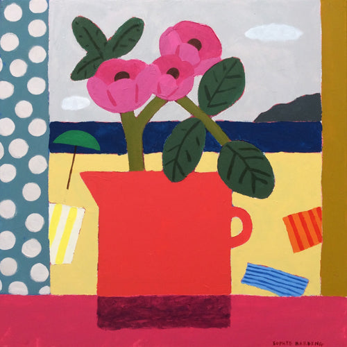 Sophie Harding - Red Jug & Sea View