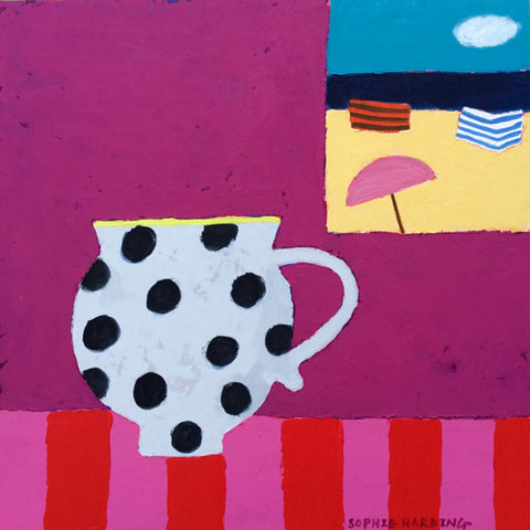 Sophie Harding - Spotty Cup & Sea View