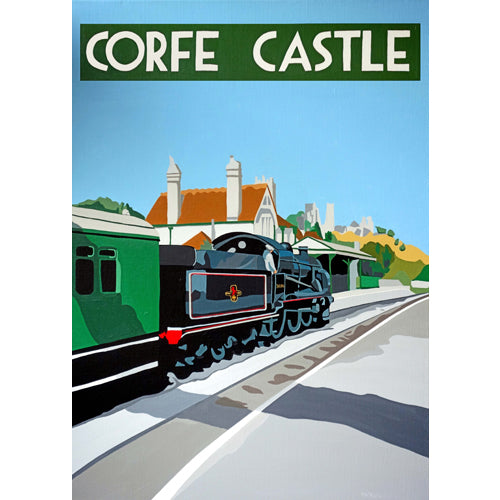 Love Dorset - Corfe Castle, Steam Train