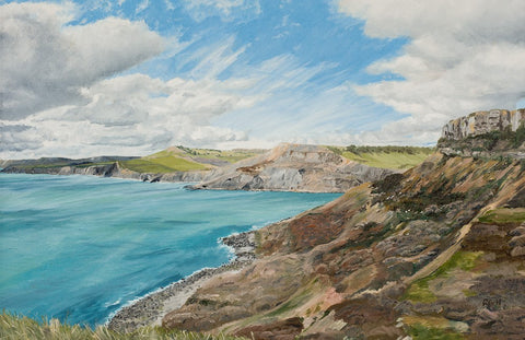 Richard Hooke - West From St Aldhelm's Head