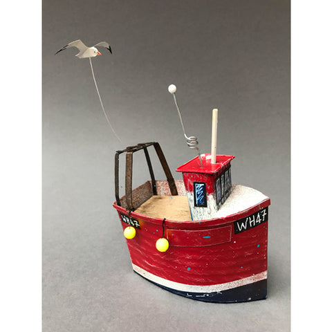 Seth Draper - WH47 Fishing Boat Sculpture