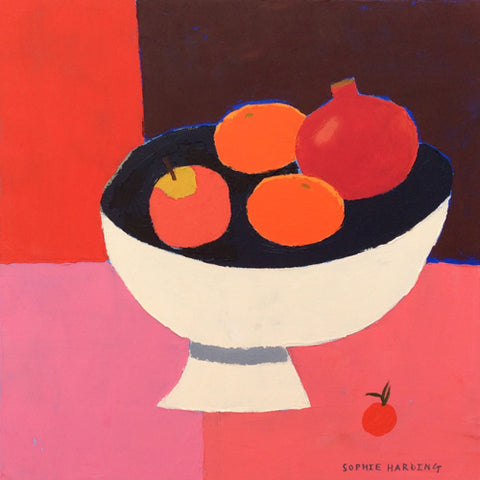 Sophie Harding - White Fruit Bowl (Original)