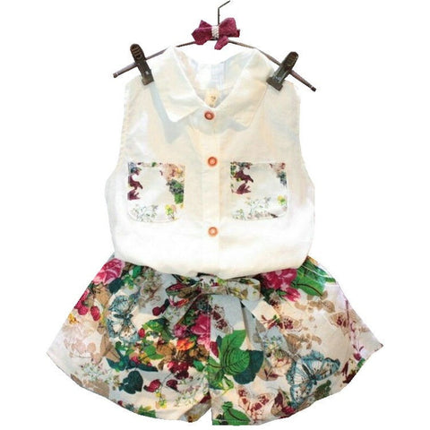 Baby Girl Summer Sunsuit - The Pickle and Potato
