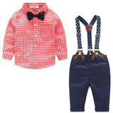 Baby Shirt and Pants w/Suspenders - The Pickle and Potato