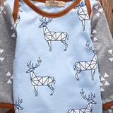 Deer Printed 3pc Clothing set