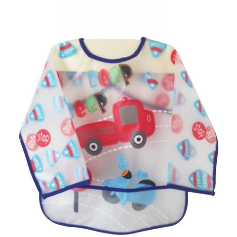 Long Sleeve Waterproof Baby Bibs - The Pickle and Potato