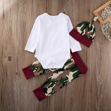 """Daddy's Little Man"" Camo clothing set"