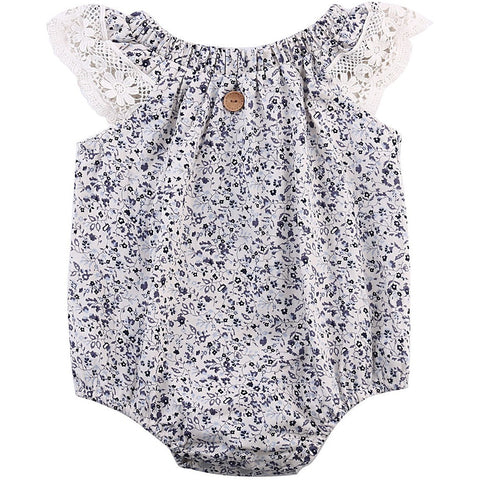 Baby Girl Romper Summer Sunsuit - The Pickle and Potato
