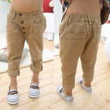 Retro Khaki Casual Pants - The Pickle and Potato