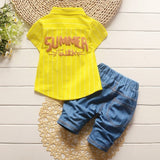 Short Sleeve Baby Boy Summer 2pc set