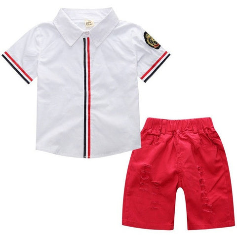Baby Boy Summer Yachting 2pc set - The Pickle and Potato