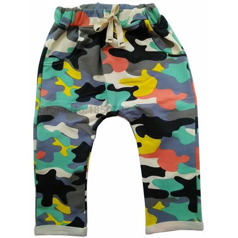 Baby Camo Harem Pants - The Pickle and Potato